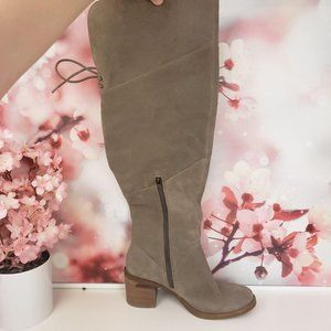 Lucky Brand Ralsky Over the Knee Suede Boot 8
